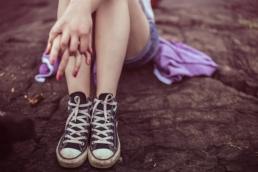 piernas adolescentes